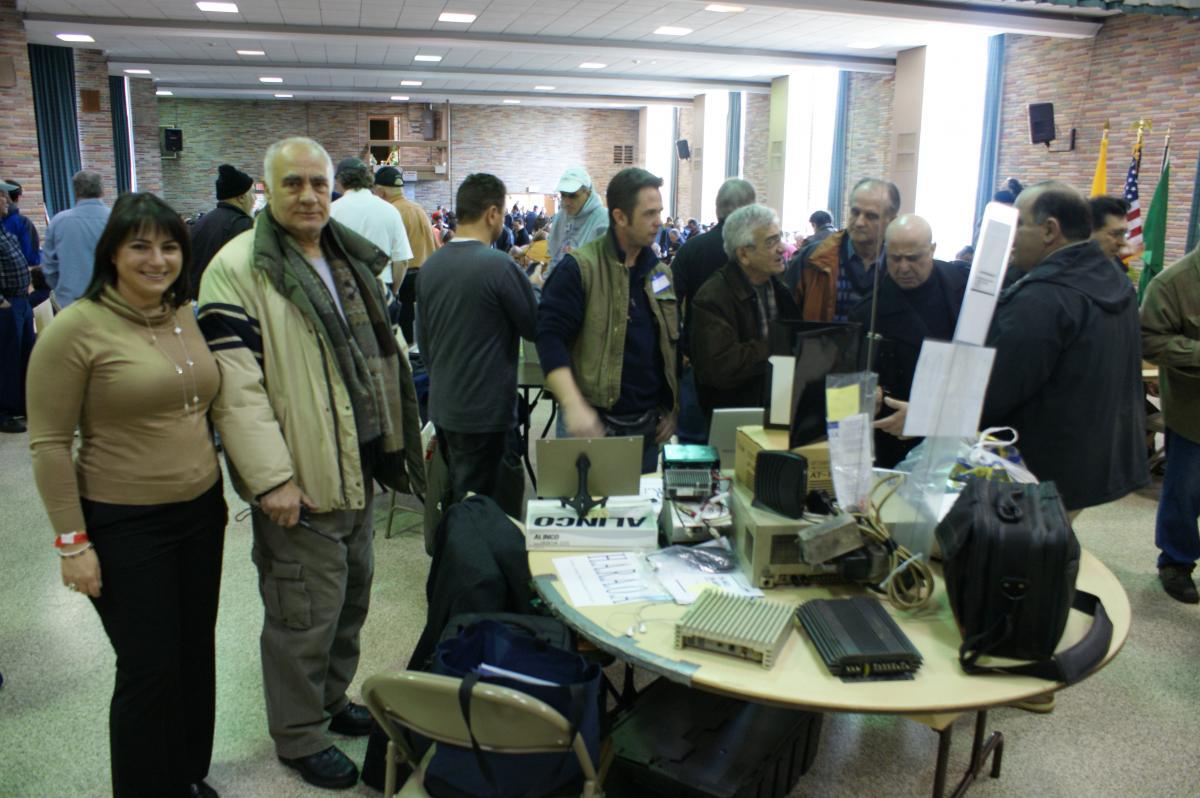 HARA at LIMARC Hamfest 2011-02-28